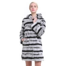 fur-SARSALLYA Women's Real Rex Rabbit Fur Coat Natural Fur Winter Jacket Women with hood Outerwear with Genuine Fur Real Fur coat on JD