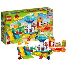 -LEGO Duplo series 2-5 years old shooting playground 10839 LEGO educational toys for children on JD