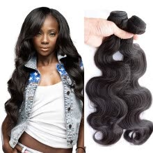 -7A Grade Brazilian Body Wave 4 Bundles Queen Hair Products Wet and Wavy Virgin Brazilian Hair Weave Bundles Remy Human Hair on JD