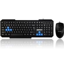 -News extension (Sunt) traveling light KX03 keyboard mute splash design Dual USB wired mouse on JD