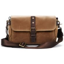 -ONA 014RT The Bowery Shoulder Skimmed SLR Camera Bag / Leica Sony Fuji Oba Micro Single Photo Package Retro Casual Canvas Bag Pure Handmade Retro Brown on JD