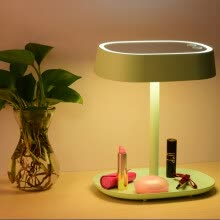 -Make up mirror, desk lamp, dressing table, mirror, gift, charge, light, touch, LED desk lamp on JD