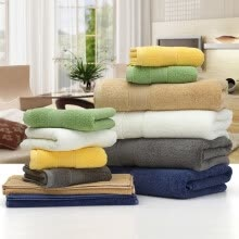 8750203-170g/pcs 35*75CM 100% Cotton Face Towel Bath Towel Soft Cotton Beauty Towel Bathroom Products Home Cleaning Face Bathroom Hand Hai on JD