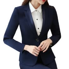 875061834-Blazers Women's Single-Button Suit Jacket New 2017 Casacos Femininos Basic Jackets Slim Blazer Suits For Woman on JD