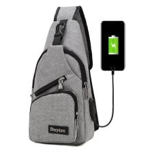crossbody-bags-Men Casual Sling Bag Outdoor Travel Chest Shoulder Crossbody  with USB charging port on JD