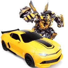 -Beauty-induced model (MZ) remote control car Hornet Ares charging box oversize induction deformation 5 generations King Kong car children boy toy car robot yell on JD