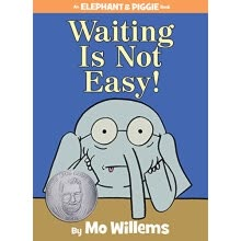 -An Elephant and Piggie Book: Waiting Is Not Easy! 英文原版 on JD