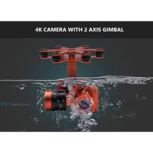 rc-plane-accessories-New Elegance waterproof 4K camera gimbal for Waterproof UVA Splash Drone 3 quadcopter for photographer on JD