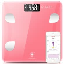 8750209-SENSSUN EB823i Smart Body Weighing Scale / Elctric Weight Scale with  Thicker Faceplate / White on JD