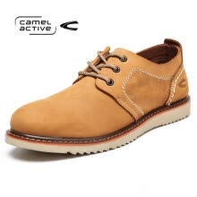 875062322-Camel Active Wild lace casual shoes trendy fashion men 's red brown 41 on JD